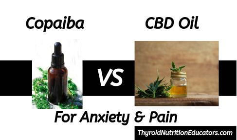 Copaiba Vs Pure CBD Oil for Anxiety in Thyroid | Thyroid Nutrition Educators