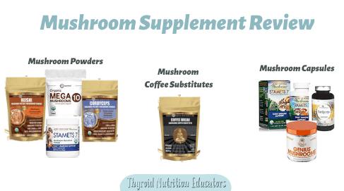 Mushroom Supplement Review Bags of Mushrooms