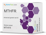 Test box for RXHome MTHFR Saliva Testing Kit   Thyroid Nutrition Educators